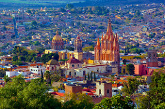 Charming and colorful San Miguel De Allende