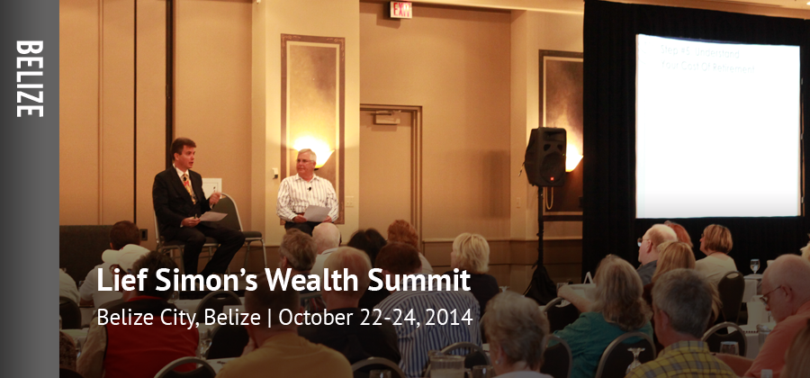 Lief Simon's Global Asset Protection and Wealth Summit