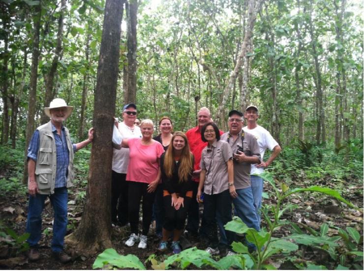 Teak Plantation Tour 2015