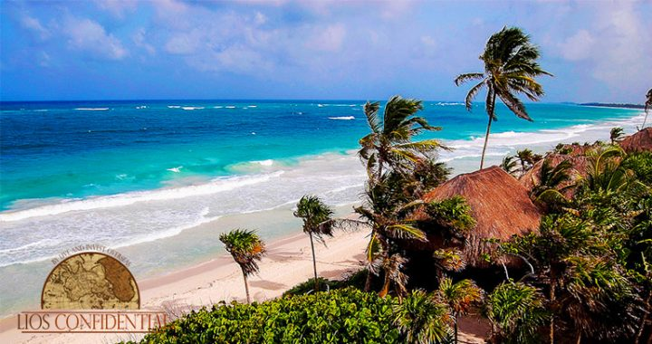 Tulum, Mexico, is a rare blend of white-sand beach, jungle, and Mayan ruins