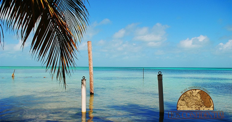 Caye Caulker, In Belize. A Great Perk of Living the Self-Sufficient Lifestyle in this country.
