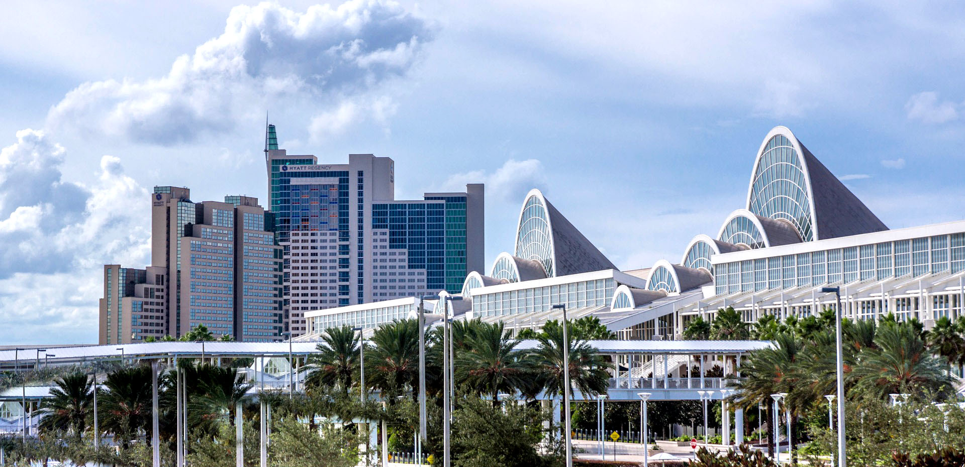 the Orlando florida skyline