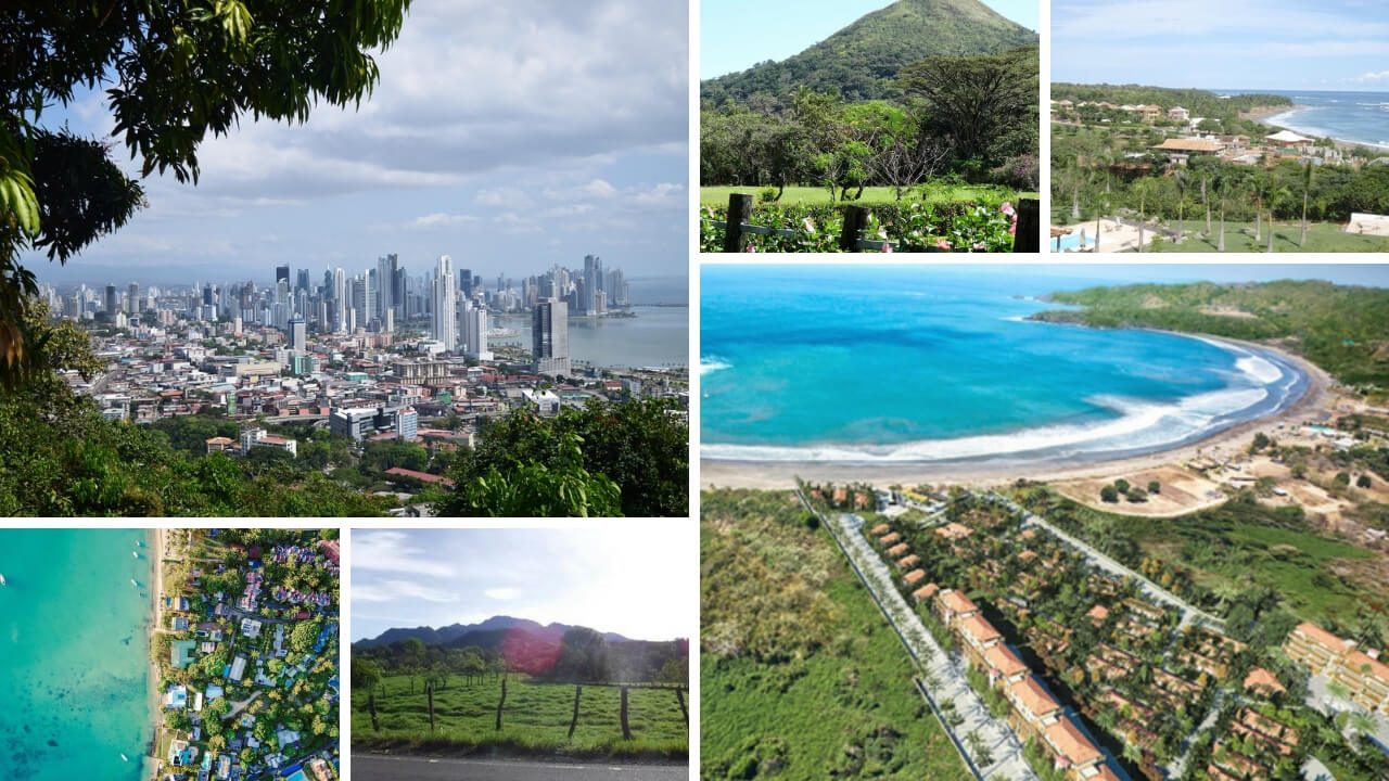 Collage of Panama images