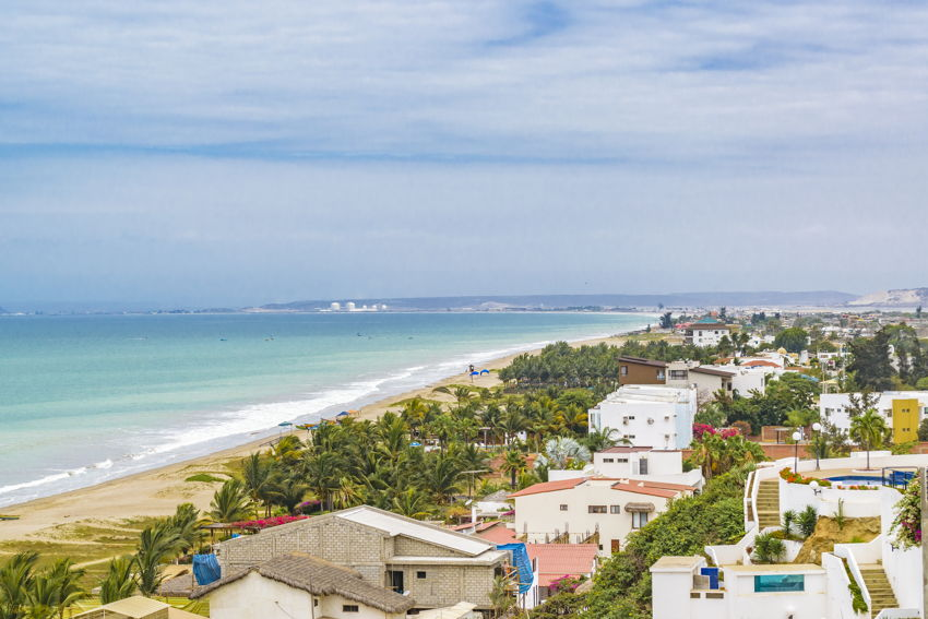 Santa Elena, a beach town in Ecuador