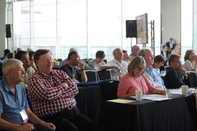 Conference attendees at one of our events