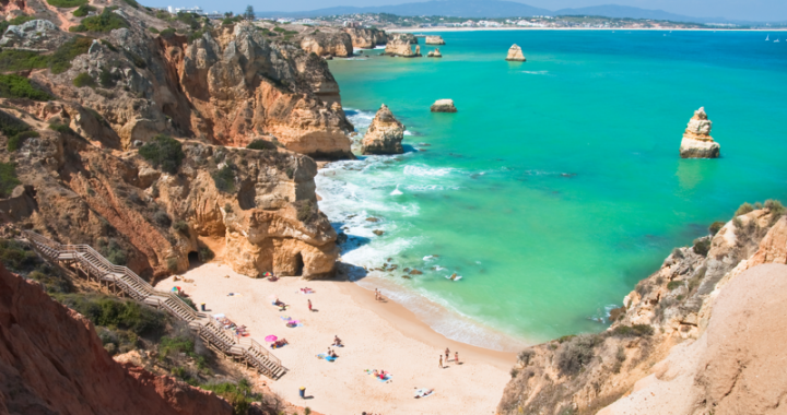 algarve cliffs portugal