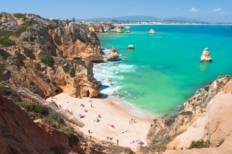algarve cliffs portugal