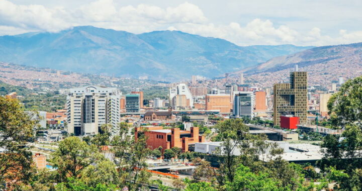 medellin view across colombia