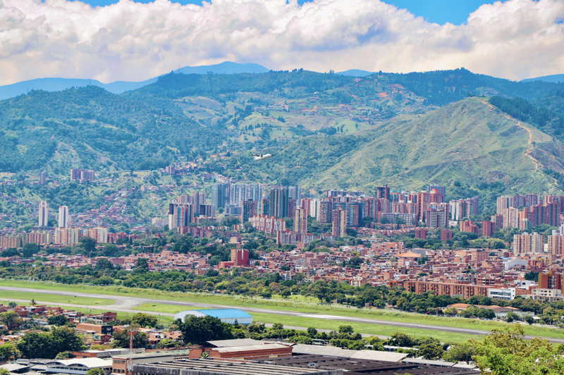 medellin colombia is a green city