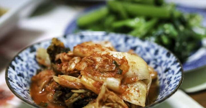 vegan food from korea