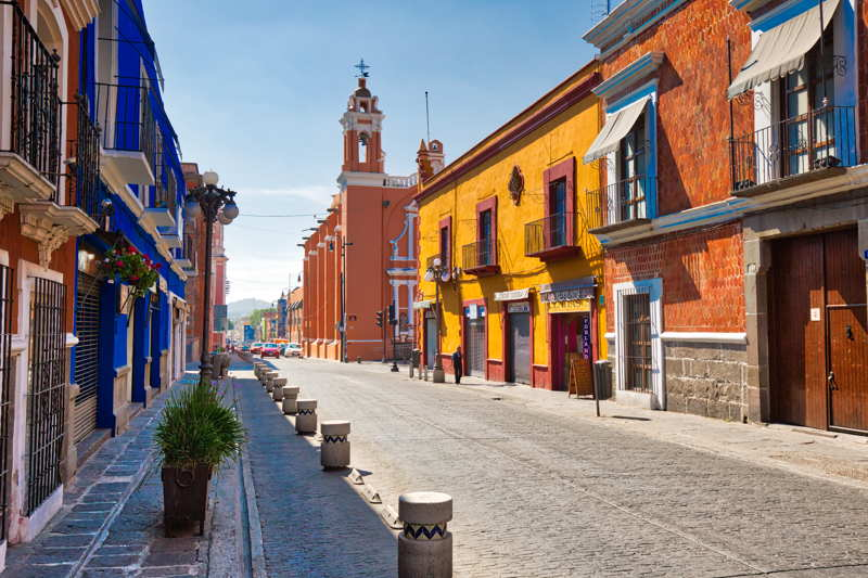 historic town in mexico