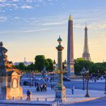 View of the Concorde Square in Paris