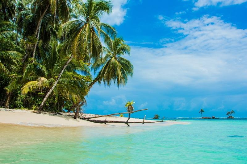 Cayo Zapatilla in Bocas del Toro province of Panama.
