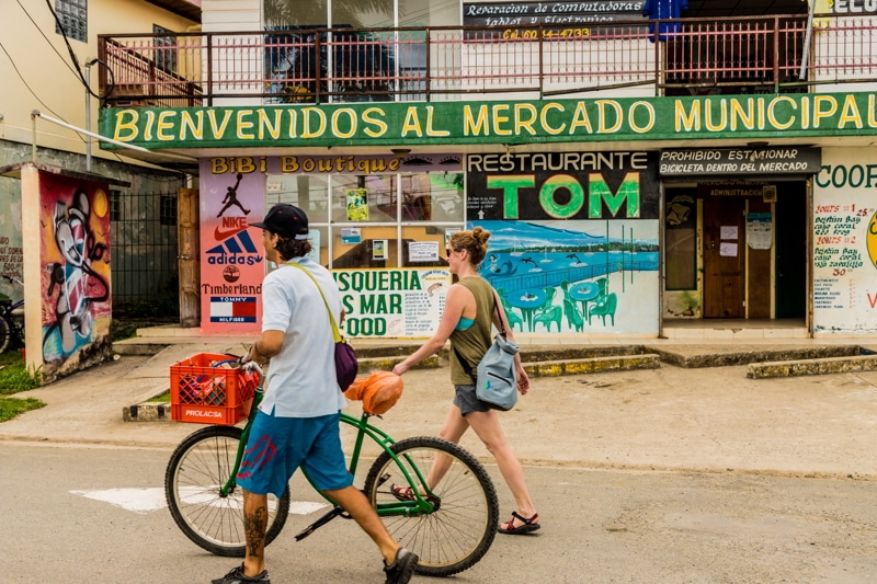 Expats in Bocas del Toro, Panama.