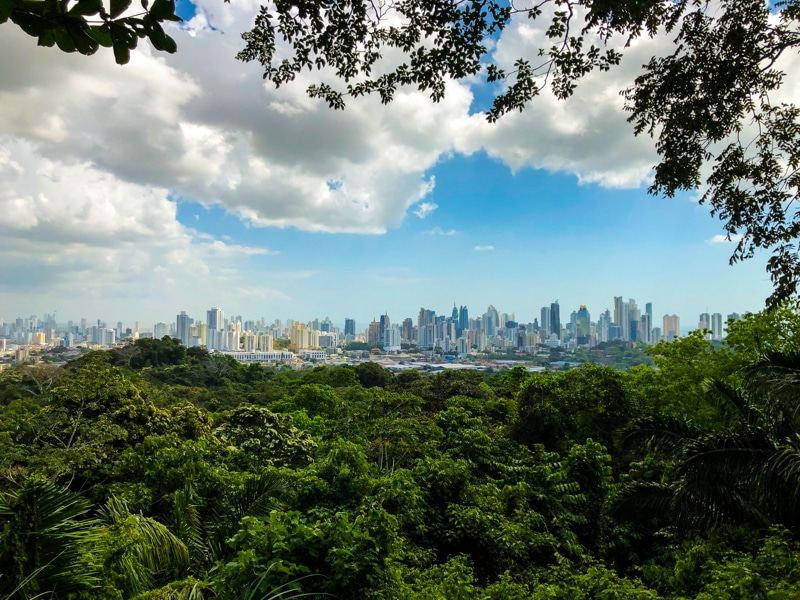 Metropolitan Natural Park, Panama City, Panama.