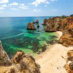 Praia do Camilo, Beach, Lagos, Algarve, Portugal.