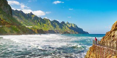 Almaciga, Taganana Coast, Tenerife, Canary Islands, Spain.