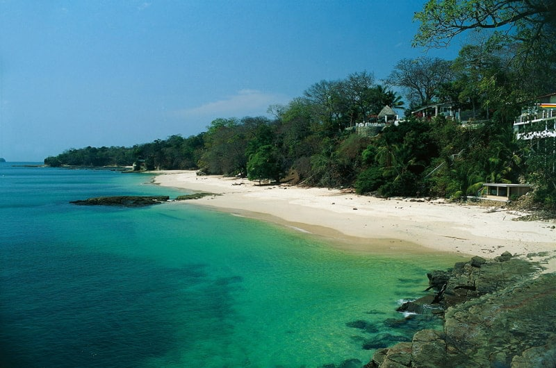 Contadora Island in Panama.