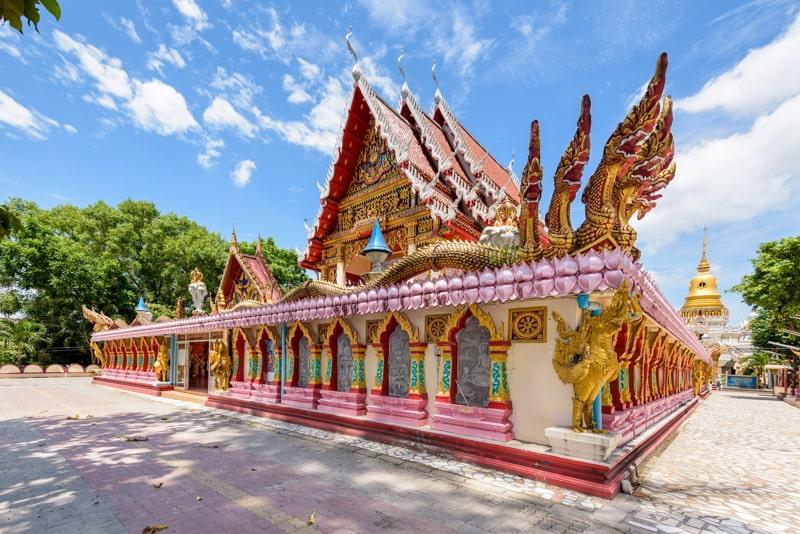 Wat Phra Nang Sang Temple in Phuket Province, Thailand.