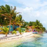 Houses in Caye Caulker, Belize